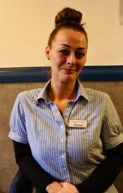 Johanna Cramer Aushilfe im Service